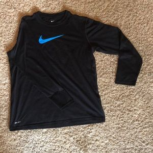 Black Nike Long sleeve T-shirt
